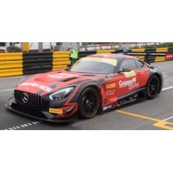 SPARK SA162 MERCEDES-AMG GT3 N°888 Mercedes-AMG Team GruppeM Racing 2ème FIA GT World Cup Macau 2018 Maro Engel (500ex)