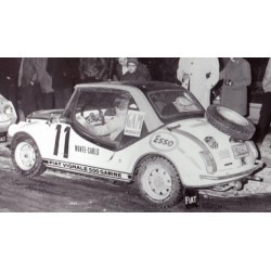 SPARK S1500 FIAT 500 Gamine n°11 Monte Carlo 1969 Le Graverend