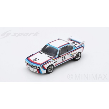 SPARK S1566 BMW 3.0 CSL N°87 24H Le Mans 1974 M. Finotto - C. Facetti - M. Mohr