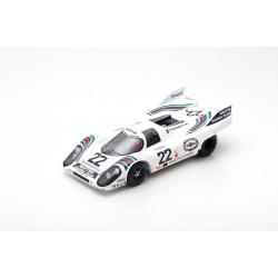 SPARK 18LM71 PORSCHE 917K N°22 Winners Le Mans 1971 H. Marko- G. Van Lennep