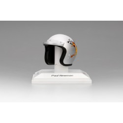 TRUESCALE TSMAC0002 CASQUE 1/8ème Paul Newman 1977 P.L.N. Racing
