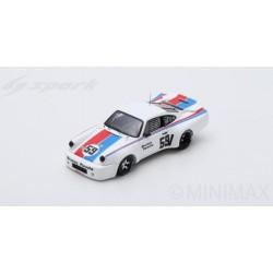 SPARK US047 PORSCHE 911 Carrera RSR N°59 Mid-Ohio 100 Miles 1975 Peter Gregg (500ex)