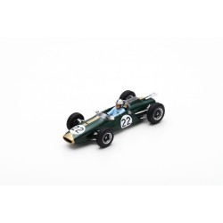 SPARK S5262 BRABHAM BT3 N°22 GP Italie 1963 Jack Brabham