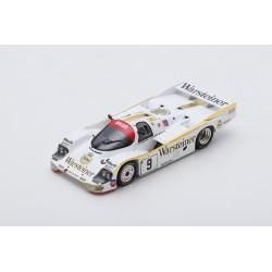 SPARK S7504 PORSCHE 956 N°9 24H Le Mans 1984 W. Brun - L. von Bayern - B. Akin
