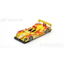 SPARK 43SE08 PORSCHE RS Spyder N°7 Penske Racing Vainqueur 12H Sebring 2008 R. Dumas - T. Bernhard - E. Collard