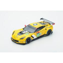 18S199 CHEVROLET Corvette C7R n°64 Vainqueur LMGTE Pro Le Mans 2015 Corvette Racing GM O.Gavin-T.Milner -J.Taylor