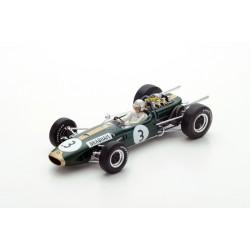 SPARK 18S223 BRABHAM BT19 N°3 Champion du Monde 1966 - Jack Brabham