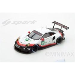 SPARK 18S329 PORSCHE 911 RSR N°91 - Porsche GT Team-20ème Le Mans 2017 4ème LMGTE Pro-