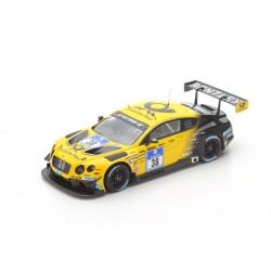 SPARK 18SG014 BENTLEY Continental GT3 Team ABT n°38 7ème 24 h Nurburgring 2016