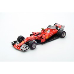 LOOKSMART LS18F108 FERRARI Scuderia Ferrari SF70H 4ème GP Australie 2017 Kimi Raïkonnen