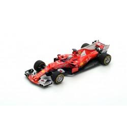 LOOKSMART LSF107 FERRARI Scuderia Ferrari SF70H Vainqueur GP Australie 2017 Sebastian Vettel
