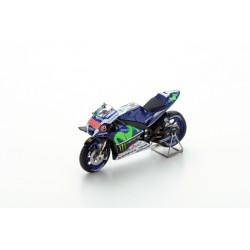 SPARK M43007 YAMAHA YZR M1 N°99- Movistar Yamaha MotoGP Vainqueur GP France- Le Mans 2016- Jorge Lorenzo
