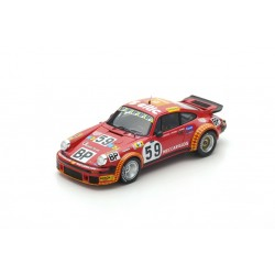SPARK S4750 PORSCHE 934 n°59 Le Mans 1977 F. Servanin - L. Ferrier - F. Hummel