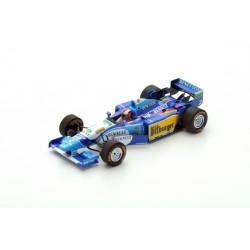 SPARK S4776BENETTON B195 N°2 Vainqueur GP Angleterre 1995 -Johnny Herbert
