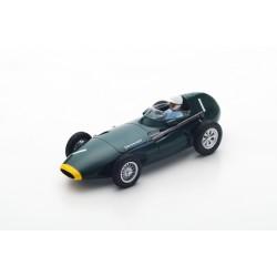 SPARK S4870 VANWALL VW57 N°1 Vainqueur GP Pays Bas 1958- Stirling Moss