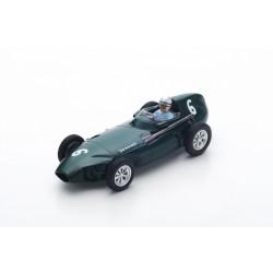 SPARK S4871 VANWALL VW57 N°6 3ème GP Belgique 1958- Stuart Lewis-Evans