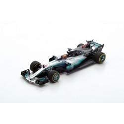 """SPARK S5049 MERCEDES AMG Petronas F1 Team N°44 """"200ème GP"""" Vainqueur GP Belgique 2017-"""
