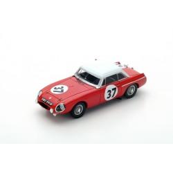 SPARK S5078 MG MGB Hardtop N°37 24 H Le Mans 1964- P. Hopkirk - A. Hedges