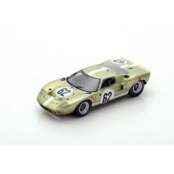 SPARK S5179 FORD GT40 MkI N°62 24 H Le Mans 1967- M. Salmon - B. Redman