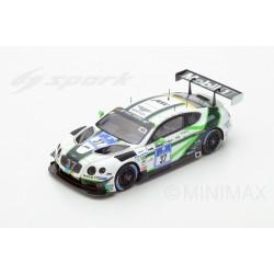 SPARK SG237 BENTLEY Continental GT3 n°37 17ème 24 H Nurburgring 2016