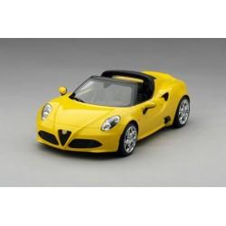 TOPSPEED TS0017 ALFA ROMEO 4C Spider Giallo Prototipo