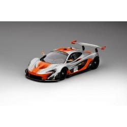 TRUESCALE TSM181006 MCLAREN P1-GTR #13 2015 Argent/Orange