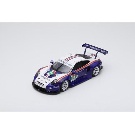 SPARK 18S392 PORSCHE 911 RSR N°91 2ème LMGTE Pro 24H Le Mans 2018 Lietz - Bruni - Makowiecki