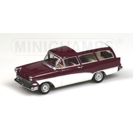 MINICHAMPS 430043218 OPEL REKORD P1 CARAVAN 1958-60 1.43