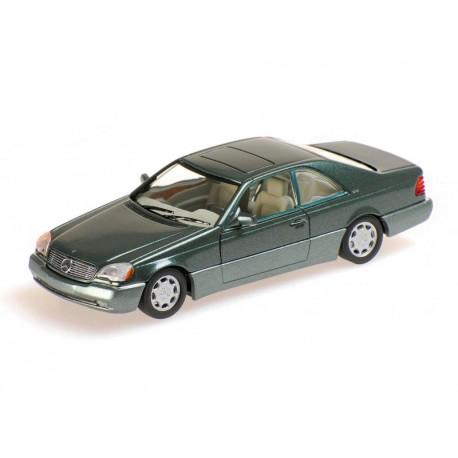 MINICHAMPS 430032604 MERCEDES-BENZ 600 SEC 1992 VERT METAL 1.43