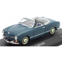 MINICHAMPS 430051044 VW KARMANN GHIA 1957 BLEU 1.43