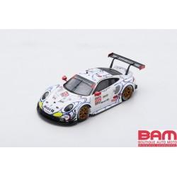 SPARK S5849 PORSCHE 911 RSR N°912 Porsche GT Team - Petit Le Mans 2018 E. Bamber - L. Vanthoor - M. Jaminet