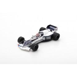 SPARK S7104 BRABHAM BT52 N°5 2ème GP Monaco 1983 Nelson Piquet