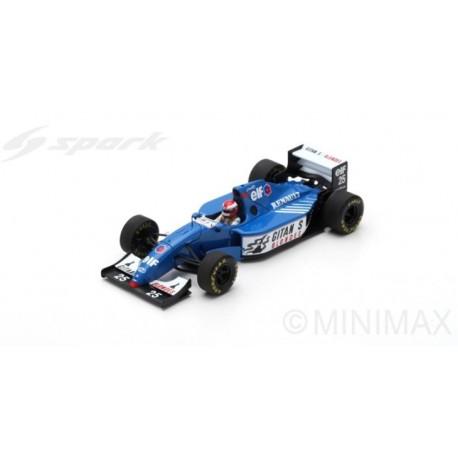 SPARK S7404 LIGIER JS39B N°25 GP Europe 1994 Johnny Herbert