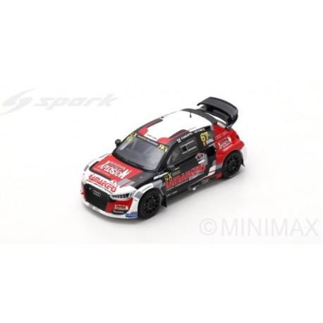 SPARK S7812 AUDI S1 RX quattro N°67 Rd.3 World RX Belgique 2018 Team Audi Comtoyou RX François Duval