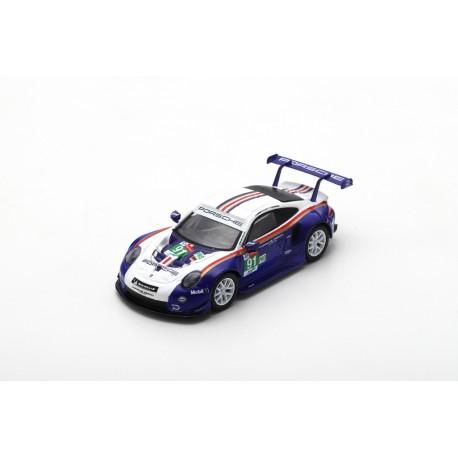 SPARK Y121 PORSCHE 911 RSR N°91 2ème LMGTE Pro 24H Le Mans 2018 Lietz - Bruni - Makowiecki