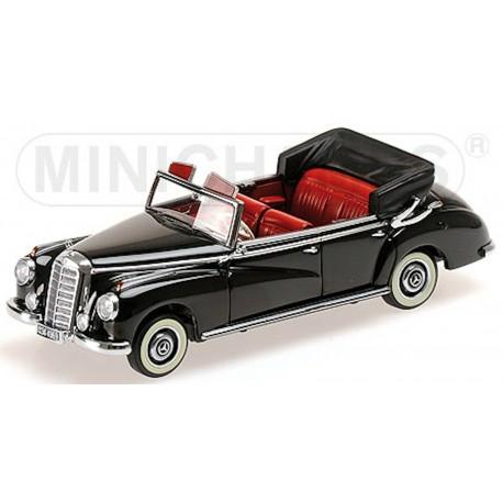 MINICHAMPS 437032130 Mercedes 300 CABRIOLET NOIR 1952 1.43