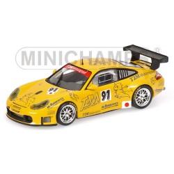 "MINICHAMPS 403066981 PORSCHE 911 GT3 RS N 91-JR FOURNOUX/YAMAGASHI/KONOPKA """"T2M"" 1.43"