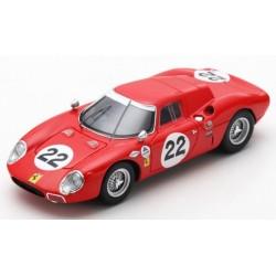 LOOKSMART LSRC059 FERRARI 250 LM N°22 24H Daytona 1966- J.Rindt-B.Bondurant
