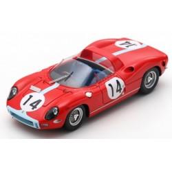 LOOKSMART LSLM090 FERRARI 330P N°14 2ème 24H Le Mans 1964- G.Hill-J.Bonnier