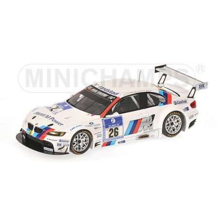 MINICHAMPS 436102926 BMW M3 GT2 NURBURGRING 2010 No26 1.43