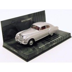 MINICHAMPS 436139421 BENTLEY CONTINENTAL TYPE R SILVER 1.43