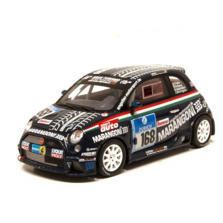 MINICHAMPS 437081268 FIAT 500 NURBURGRING 2008 No168 1.43