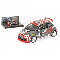 MINICHAMPS 437101299 FIAT 500 ABARTH ASSETTO VLN 2010 1.43