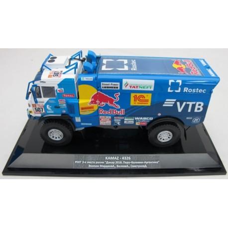 DIP MODEL 243273 KAMAZ - 4326 N°507 3ème Place Rallye Dakar - 2018