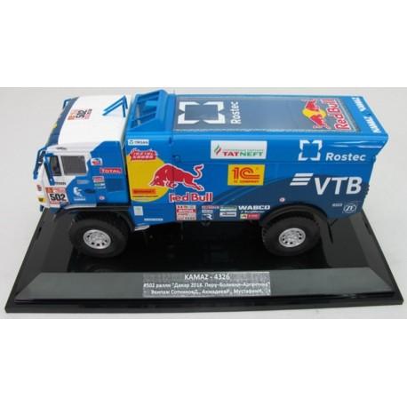 DIP MODEL 243274 KAMAZ - 4326 N°502 10ème Place Rallye Dakar - 2018
