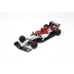 SPARK 18S452 SAUBER Alfa Romeo Racing F1 Team N°7 Course à déterminer 2019 Alfa Romeo Racing C38 Kimi Räikkönen 1.18
