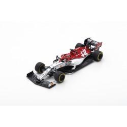 SPARK S6073 SAUBER Alfa Romeo Racing F1 Team N°7 Course à déterminer 2019 Alfa Romeo Racing C38 Kimi Räikkönen 1.43