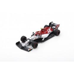SPARK S6074 SAUBER Alfa Romeo Racing F1 Team N°99 Course à déterminer 2019 Alfa Romeo Racing C38 Antonio Giovinazzi 1.43