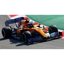SPARK S6082 MCLAREN F1 Team N°55 Course à déterminer 2019 McLaren MCL34 Carlos Sainz Jr. 1.43