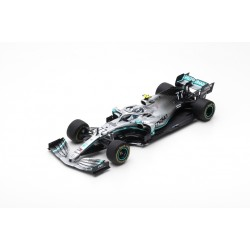 SPARK 18S451 MERCEDES-AMG Petronas Motorsport F1 Team N°77 2019 Mercedes-AMG F1 W10 EQ Power+ Valtteri Bottas 1.18